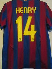 Barcelona 2009-2010 Casa Henry Camiseta de Fútbol Adulto Medio / 39510