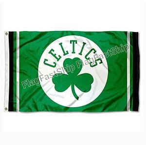 Boston Celtics Flag 3X5 Logo NBA Basketball FAST FREE Shipping US SELLER
