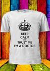 Trust Me I'm A Doctor Tumblr Funny T-shirt Vest Tank Top Men Women Unisex 1236