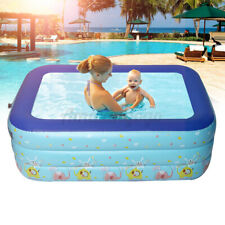 Inflatable Swimming Pool Family Kids Children Play Above Ground Fun Courtyard Us