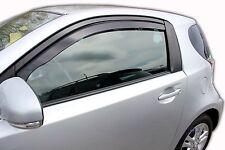 Toyota IQ 3 DOOR 2009-up Front wind deflectors 2pc Internal Fit TINTED HEKO