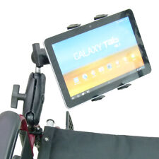 Extended Wheelchair Mount Tablet Holder for Samsung Galaxy Tab 2 3 4 Series
