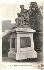 CPA 72 LE MANS   statue de pierre belon
