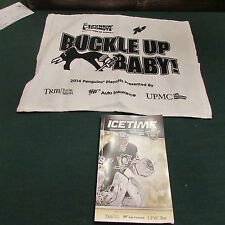 2014 PENGUINS PLAYOFF RALLY TOWEL AND GAME DAY PROGRAM