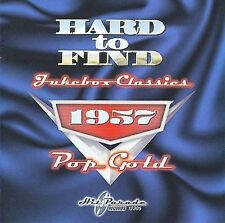 HARD TO FIND JUKEBOX CLASSICS: 1957 POP GOLD LIKE NEW CD; RICKY NELSON, OTHERS