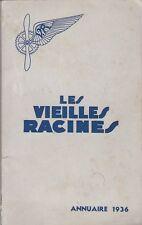 Annuaire des Vieilles Racines 1936 - Aviation