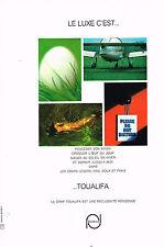 PUBLICITE  1967   TOUALIFA  linge de maison draps