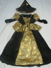 Hexenkostüm Hexe Kinder Kostüm Zauberin Gr.104  Halloweeen Karneval Fasching NEU