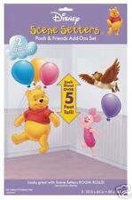 Disney Winnie The Pooh Bear Scene Setter Add on's - Pooh & Piglet.