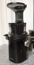 HUROM Easy H-101 Premium Edition Slow Juicer Extractor Squeezer 220V Black Pearl