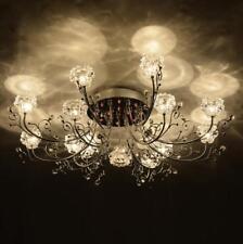 modern LED Living Room restaurant flower European bedroom crystal ceiling lamp R