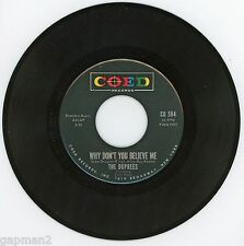 The Duprees 1963 Coed 45rpm Why Don't You Believe Me b/w My Dearest One NM