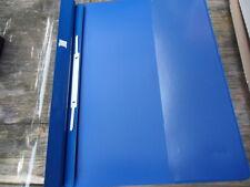 10 Stück Leitz 4194, Exquisit  Hefter Schnellhefter Überbreite, blau, neu OVP
