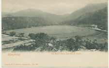 "HONG KONG 1910 unused old vintage postcard ""The Race Course and Happy Valley"""