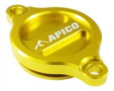 Apico Oil Filter Cover SUZUKI RMZ250 07-15 RMZ450 05-15 YELLOW