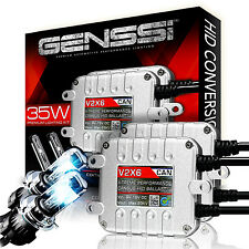 GENSSI Premium Bi-Xenon High Low HID Conversion Kit H13 9008 CANBUS Bulb 6000K