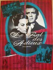 LE BAL DES ADIEUX THE STORY OF FRANZ LISZT AFFICHE POSTER CINEMA 1960 DIRK BOGAR