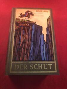 DER SCHUT by Karl May Hard Cover Book Writen in German