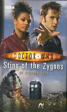 DOCTOR WHO STING OF THE ZYGONS by STEPHEN COLE HC bbc book
