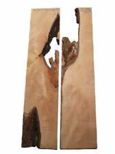 2x Birnbaum Brett Birnenholz Epoxid Holz 70x7/16cm 20/21mm
