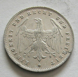 GERMANY - ALUMINUM 200 MARK 1923 G - KM # 35 V.F