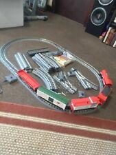 MTH O Gauge RailKing Christmas 4-6-0 Steam Freight Train Set w-Remote & Sound