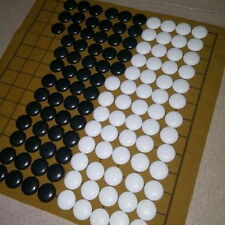 90pcs Go Bang Game Suede Leather Sheet Board Chinese Educational Play Fashion XT