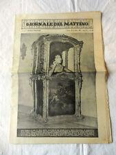 Rivista GIORNALE DEL MATTINO Supplemento della Domenica Anno XV N°226 Sett..1961