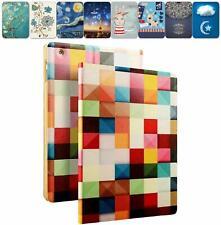 "DuraSafe Slim Case iPad 10.2"" [ A2200 A2198 A2197 ] Printed Folio Color Grid +"