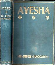 1905 1ST CANADIAN FANTASY AYESHA RETURN OF SHE ILLUSTRATED H. RIDER HAGGARD