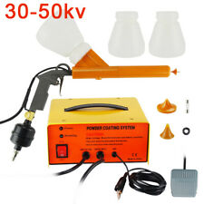Electrostatic Powder Coating System Powder Coating Machine Spraying Gun Portable