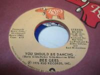 Rock 45 THE BEE GEES You Should Be Dancing on RSO