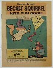 Vtg Secret Squirrel Hanna-Barbera Morocco Mole Comic Kite Book SoCal Edison 1966