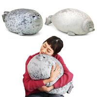 New Stuffed Seal Plush Pillow 30cm Giant Big Doll Toy Kid Chair Chest Pets Gifts