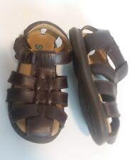 Boys Toddler  7M Scott David Sailor Sandals brown 7 boy huarache shoes woven