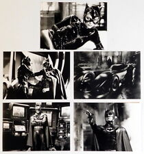 Tim Burton BATMAN RETURNS original press kit photo set 5 vintage stills 1992