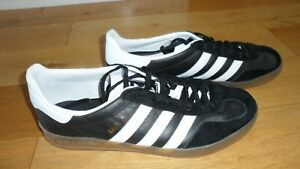 Fab Mens Adidas Gazelle Black Casual Shoes Trainers, UK Size 9