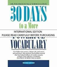 30 Days to a More Powerful Vocabulary by Funk