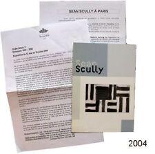 Carton d'invitation Sean Scully estampes 1983-2003 Centre culturel Irlandais