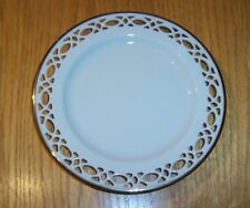 """Lenox China Trapunto 6 1/4"""" Bread and Butter Plate New with Tag and Bag"""