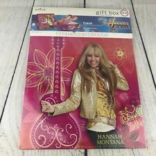 New Hannah Montana Gift Box w/ Play Microphone Disney FunZip Hallmark Sealed NOS