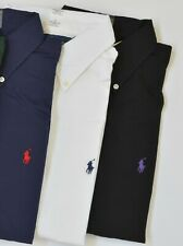 New Polo Ralph Lauren Men's Classic Fit Long-Sleeve Poplin Cotton Dress Shirt