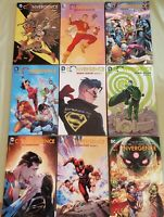 Convergence Complete Lot Infinite Earths Crisis Zero Hour Flashpoint TPB BOOK DC