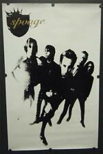 Rock Group Sponge Promo Poster 1996 Wax Ecstatic (To Sell Angelina) My Baby Said