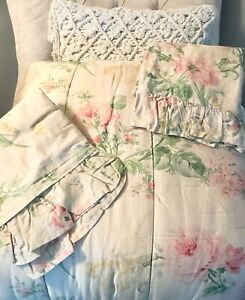 HTF RALPH LAUREN FRANCESCA 3PC FULL/QUEEN COMFORTER & SHAM SET