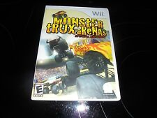 MONSTER TRUX ARENAS SPECIAL EDITION NINTENDO WII~~TRUCKS~~FREE SHIPPING~`