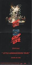 Skip The Use Little Armageddon Tour DVD PROMO zenith de lille (no cd)