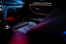 BMW Ambilight Upgrade Ambientebeleuchtung F30 F31 F80 LED Licht Light Paket M