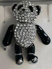 *Butler and Wilson Panda Bear Pin Brooch