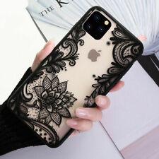 F iPhone 11 Pro Max 8 Plus 7 XS MAX XR Mandala Lace Flower Cute Phone Case Cover